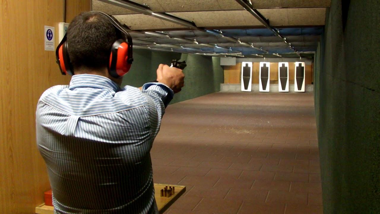 tiro ao alvo pistola